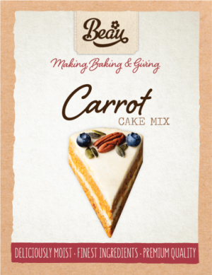 Beau Products Carrot Cake Mix