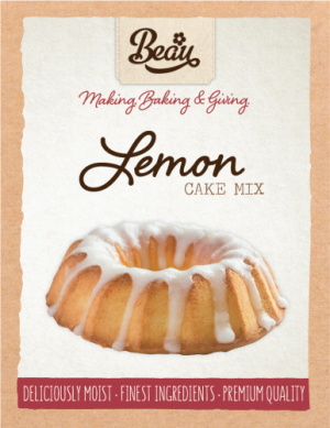 Beau Products Lemon Cake Mix