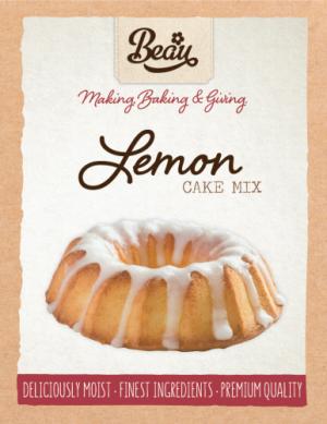 Beau Products Lemon Cake Mix