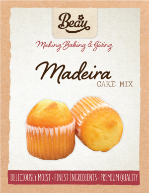 Beau Products Madeira Cake Mix