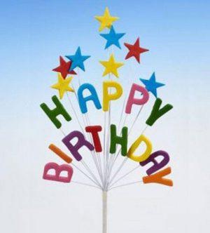 Happy Birthday Sprays
